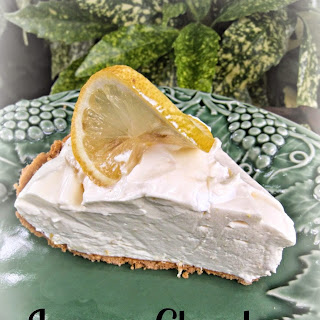 Lemon Cloud Pie