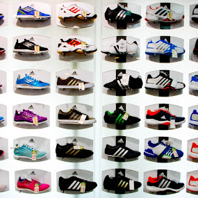 Pick One by Fazrul Mustaqim - Abstract Patterns ( shoes, futsal, foots, pattern, sports, adidas, stripes, boots, colours, nike )