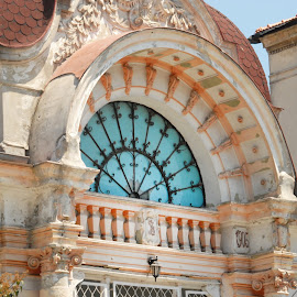 Constantinidi Villa by Joie Negru - Buildings & Architecture Architectural Detail ( karlsplatz municipal palace prague otto wagner, villa constantinidi constanta romania,  )