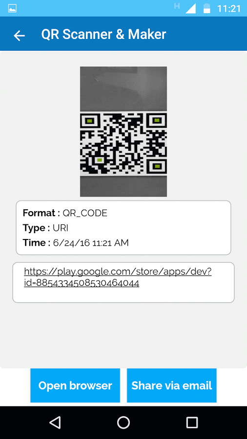 QR Scanner & Maker Pro Screenshot 1