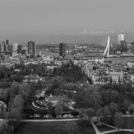Euromast-Rotterdam by Radijsje VC - City,  Street & Park  Skylines