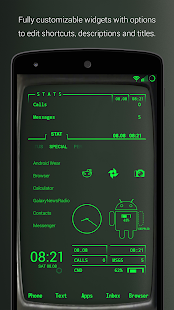PipTec Green Icons & Live Wall Screenshot