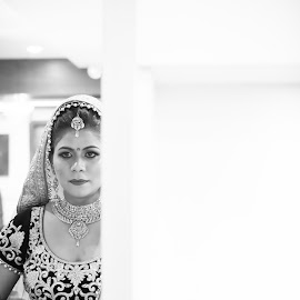 Am I looking good? by Kshitij Bhaswar - Wedding Getting Ready ( canon, mark3, wedding photography, 5d mark3, candid photography, indian marriage, candid, indian wedding, portrait, photography, bridal, wedding, photoshoot, bride )