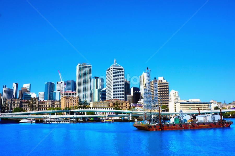 Brisbane City       by Arif Perdana - Landscapes Travel