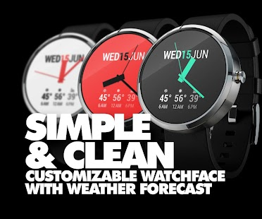 InstaWeather for Android Wear Screenshot