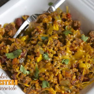 Ground Beef And Rice Casserole Crock Pot Recipes