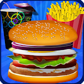 Burger Fast Food Cooking Games APK for Bluestacks