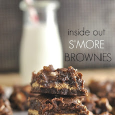 Inside Out S'more Brownies