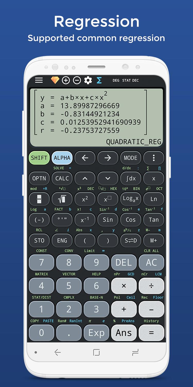 Complex calculator & Solve for x TI-36 TI-84 Plus Screenshot 5