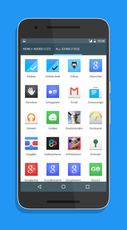 Canvas Icon Pack Screenshot 5