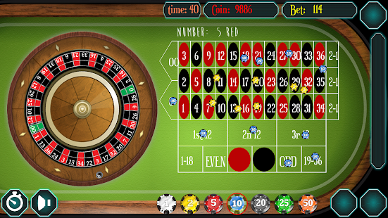 American roulette spin data