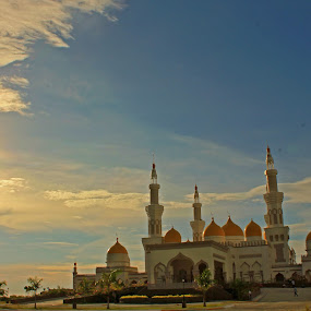 GRAND MOSQUE by Louie Racosas - Landscapes Prairies, Meadows & Fields