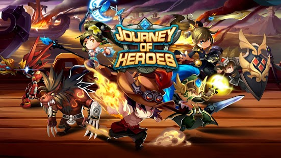 Journey of Heroes - screenshot