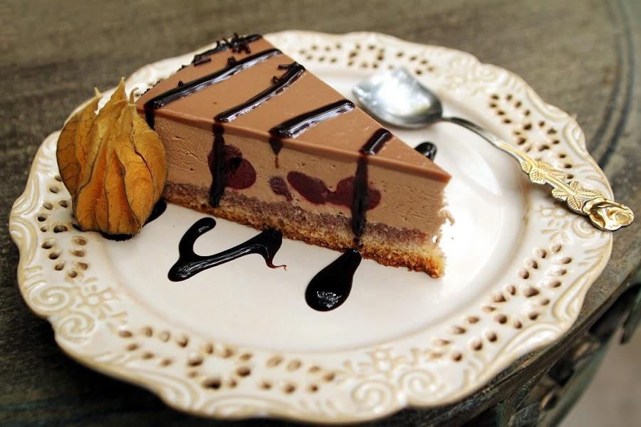 Cheesecake by Nicu Buculei - Food & Drink Candy & Dessert ( cheesecake, sweet, food, plate, dessert, , hungry, nomnom, yummy, foodie, eat, cook, family, cooking, groceries, breakfast, lunch, dinner, tasty, Food & Beverage, meal, Eat & Drink )