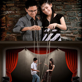 Prewed Udin & Alya by Kristanda Junior - Digital Art People