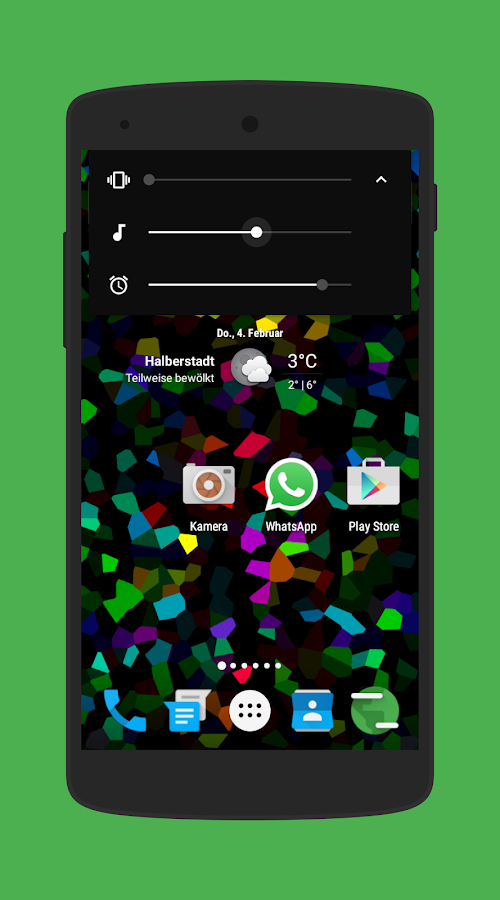 Amoledar CM13/12 Theme Screenshot 4