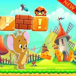 Jerry Adventure runner - help jerry to escape from dangers APK Icon