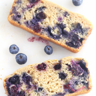 Lemon Blueberry Breakfast Loaf