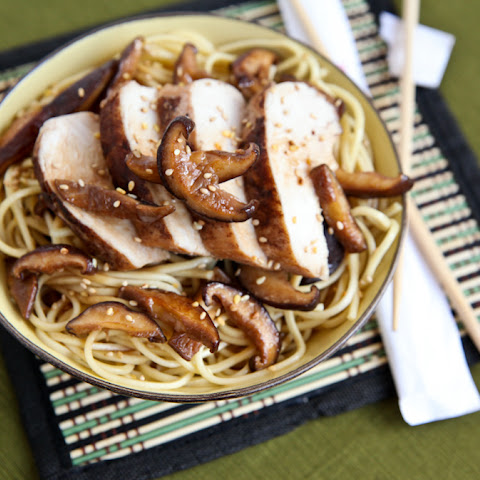 Five Spice Chicken Lo Mein to Celebrate National Noodle Day