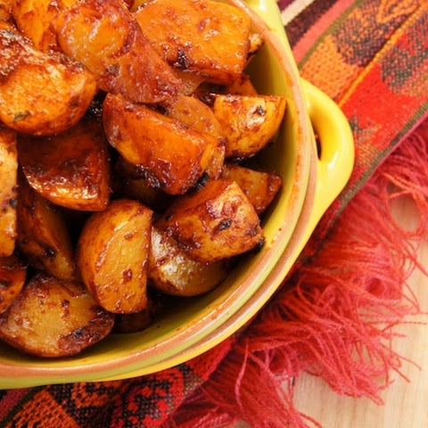 Roasted Ancho Chile Potatoes