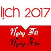 App Lich Van Su 2017 - Hoang Dao APK for Windows Phone