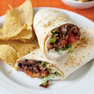 Vegetarian Burritos Kidney Beans Recipes
