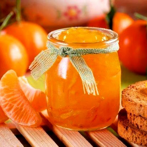The Aromatic Recipe Of Jam From Mandarins
