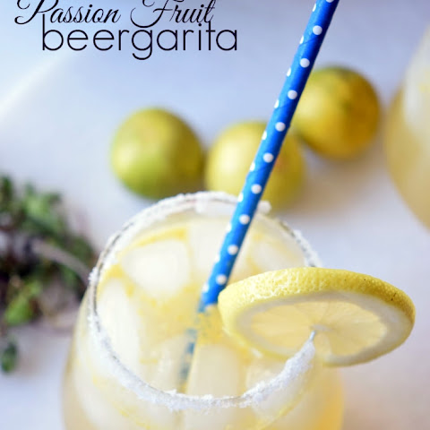 Passion Fruit Beergarita