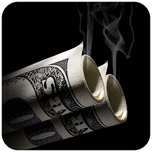Money Dollars Black Burn