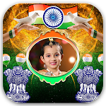 Aug 15 Independence Day Photo Frames Icon