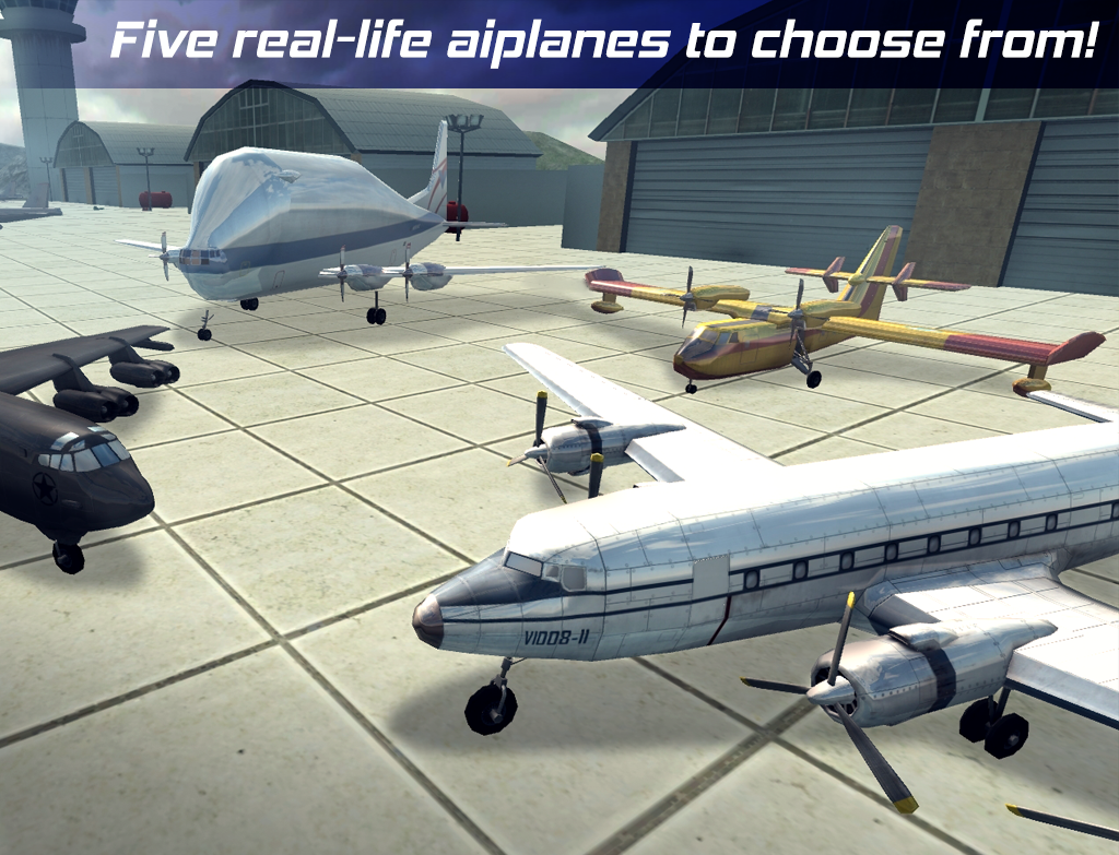 Real Pilot Flight Simulator 3D Screenshot 12