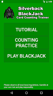 Silverback Card Count Trainer - screenshot