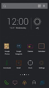 Noctilucent Theme - screenshot