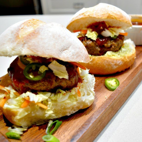 Beef Burgers with Tonkatsu Sauce