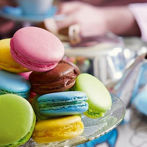 Multicoloured Macaroons