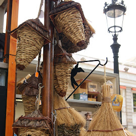 Birdhouses by Marie Mekosh - Artistic Objects Other Objects ( birdhouse, souvenir, novices only, barcelona, spain )