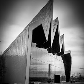 Riverside Museum by Alistair Forrest - Black & White Buildings & Architecture (  )