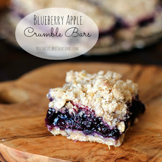 Blueberry Apple Crumb Bars