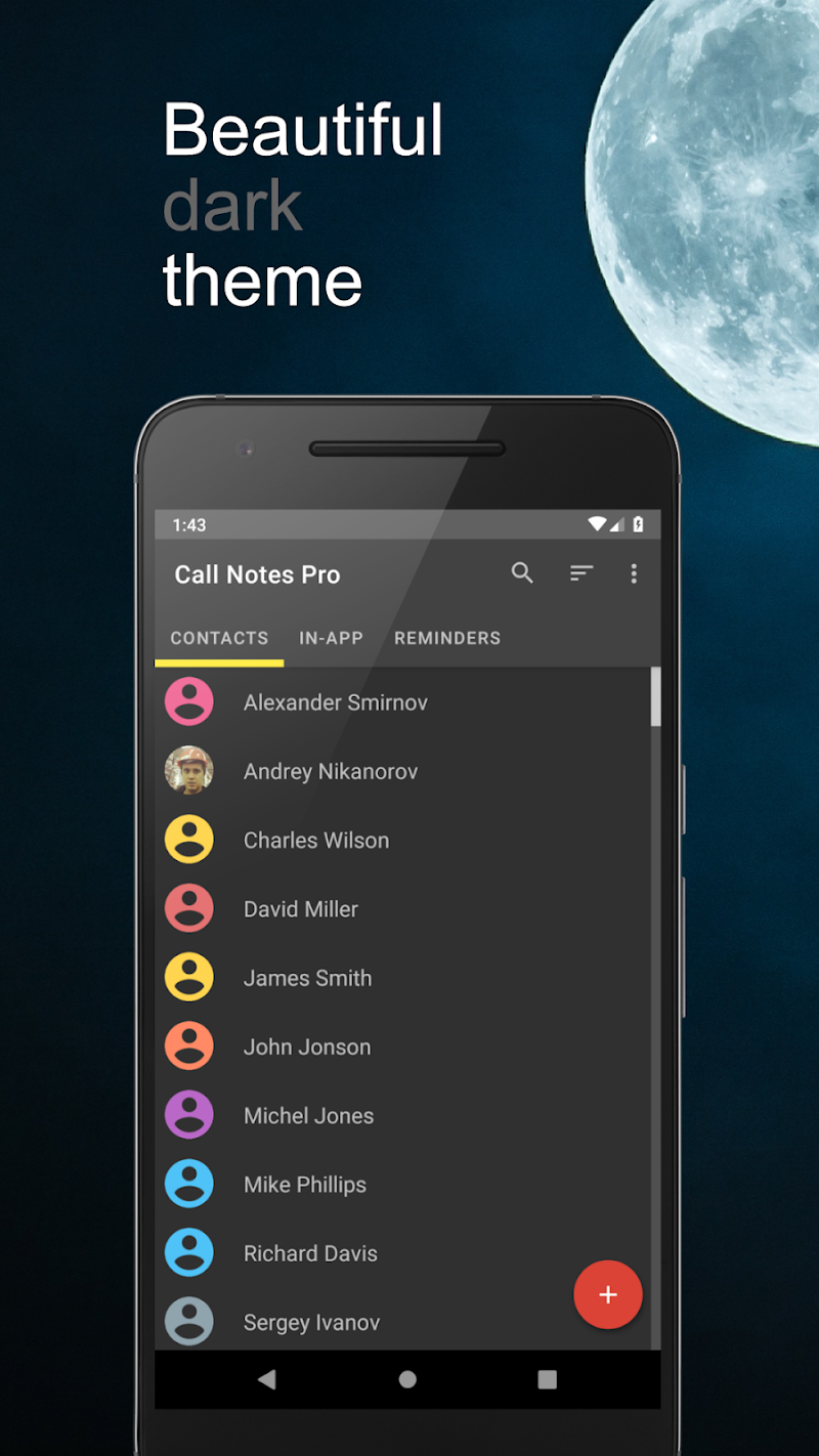 Call Notes Pro - check out who is calling Screenshot 3
