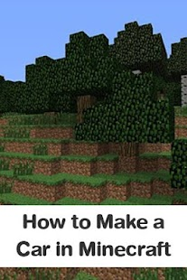 How to Make a Car in Minecraft - screenshot