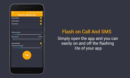 Flash on Call & SMS screenshot 5