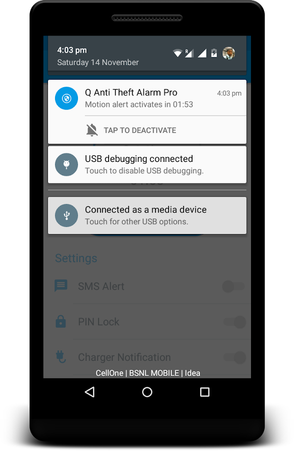Q Anti Theft Alarm Pro Screenshot 11