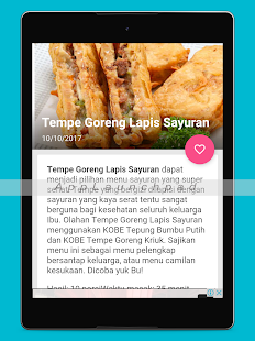 App Resep Masakan Rumah Harian APK for Kindle