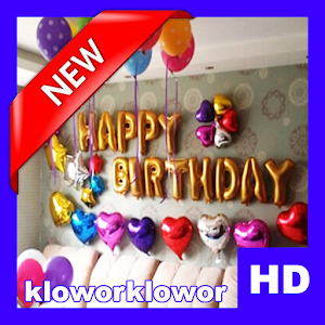 Download free Birthday Ballon Decoration HD for PC on Windows and Mac