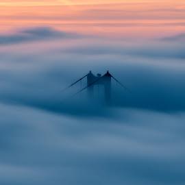 Dreamscape  by Brock Slinger - Buildings & Architecture Bridges & Suspended Structures ( golden gate bridge )