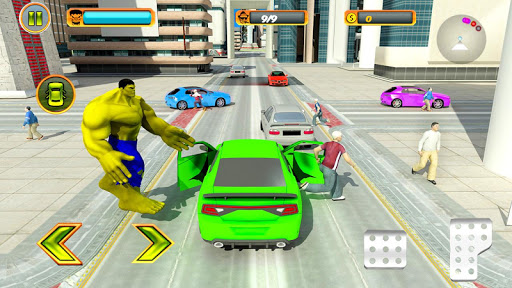 Incredible Monster Hero City Rescue Mission