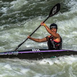 Having Fun by Mike Watts - Sports & Fitness Watersports ( kayak, whitewater )