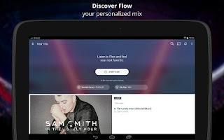 Screenshot of Deezer Music