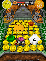 Screenshot of Coin Dozer Halloween