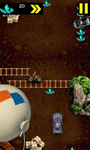 Hell Rider Car Racing - screenshot